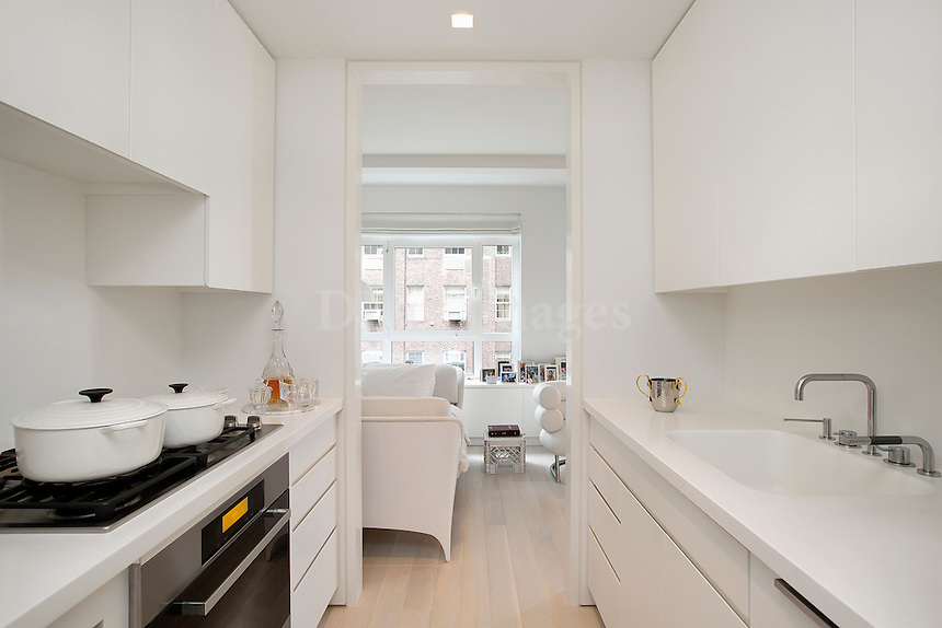 modern white cupboards