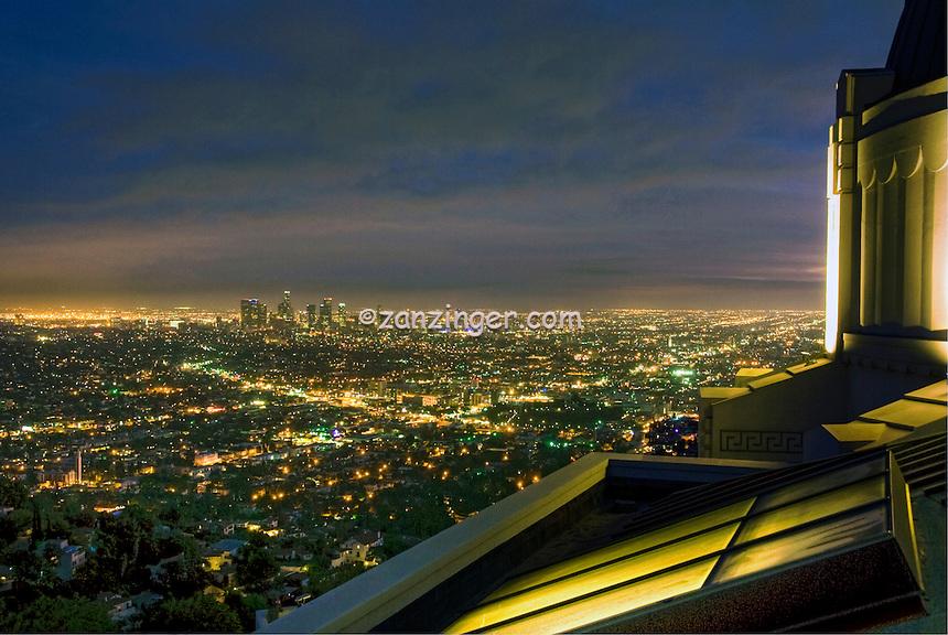 Griffith Observatory; LA; Los Angeles Calif. California CA; Skyline