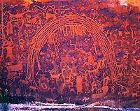 Petroglyph Panel, San Rafael Swell, Utah   Ancient Native American rock art