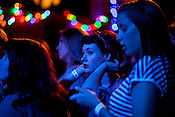 Fans await the arrival of The Avett Brothers at an intimate benefit show at Kings. (March 2012)