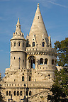 Fisherman's Bastion in the Castle District - Budapest Hungary