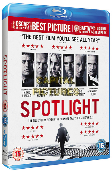 Spotlight (2015)<br /> BLU RAY COVER ART<br /> *Filmstill - Editorial Use Only*<br /> CAP/KFS<br /> Image supplied by Capital Pictures