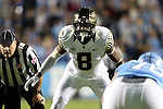 17 October 2015: Wake Forest's Marquel Lee. The University of North Carolina Tar Heels hosted the Wake Foresst University Demon Deacons at Kenan Memorial Stadium in Chapel Hill, North Carolina in a 2015 NCAA Division I College Football game. UNC won the game 50-14.