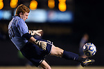24 November 2013: Navy's Gavin Snyder. The Wake Forest University Demon Deacons played the Naval Academy Midshipmen at Spry Stadium in Winston-Salem, NC in a 2013 NCAA Division I Men's Soccer Tournament Second Round match. Wake Forest won the game 2-1.