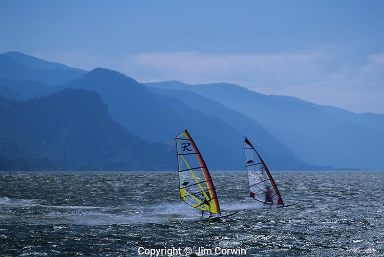 Windsurfing Columbia River