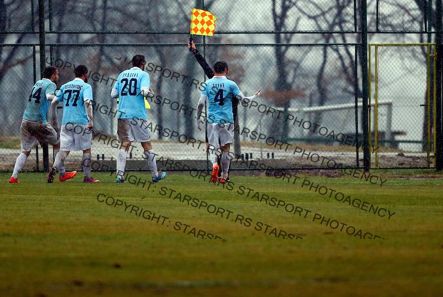 Super liga Srbije, Superliga, fudbal, Rad - Javor (Ivanjica)  Novembar 28. 2015. Beograd, Srbija, 28.11.2015.  (credit image & photo: Pedja Milosavljevic / STARSPORT)