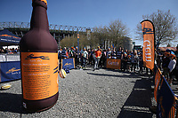 A general view of the Bath Ales set-up. The Clash, Aviva Premiership match, between Bath Rugby and Leicester Tigers on April 8, 2017 at Twickenham Stadium in London, England. Photo by: Rogan Thomson / JMP for Onside Images