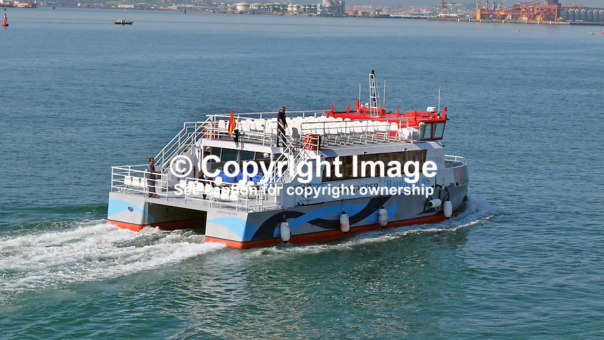DobleMar, Bahia Tours, sightseeing boat, Santander, Spain, May, 2015, 201505070808<br /> <br /> Copyright Image from Victor Patterson, 54 Dorchester Park, Belfast, UK, BT9 6RJ<br /> <br /> t: +44 28 9066 1296<br /> m: +44 7802 353836<br /> vm +44 20 8816 7153<br /> <br /> e1: victorpatterson@me.com<br /> e2: victorpatterson@gmail.com<br /> <br /> www.victorpatterson.com<br /> <br /> IMPORTANT: Please see my Terms and Conditions of Use at www.victorpatterson.com