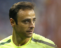 Dimitar Berbatov #9 of Manchester United during the 2010 MLS All-Star match against the MLS All-Stars at Reliant Stadium, on July 28 2010, in Houston, Texas.MANU won 5-2.