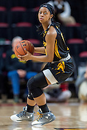 College Park, MD - DEC 6, 2016: Towson Tigers guard Raine Bankston (10) in action during game between Towson and Maryland at XFINITY Center in College Park, MD. The Terps defeated the Tigers 97-63. (Photo by Phil Peters/Media Images International)