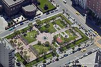 aerial photograph Huntington Park Nob Hill San Francisco California