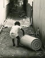 1968 July 08..Redevelopment.E Ghent North (A-1-2)..Children in East Ghent.Slum Conditions..Dennis Winston.NEG# DRW 68-13-8.NRHA#..