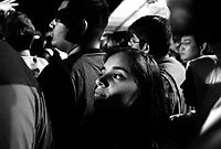 Chicago, Illinois, November 4th 2008.Prachi Murarka. More than 200 000 people gathered in Grant Park to attend Barack Obama's meeting on election night. As the results slowly came in on the giant screens, emotion rose. At 10 PM, when CNN projected Obama's victory, the crowd erupted in cheers of joy, conscious of the historical significance of the moment.