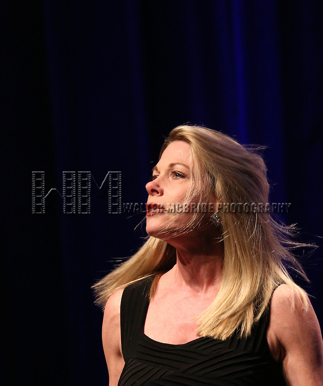 Marin Mazzie performing at the Marty Richards Memorial - An Evening of Friends, Food & Entertainment at the Edison Ballroom in New York City on 4/8/2013