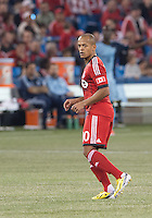 09 March 2013: Toronto FC forward Robert Earnshaw #10 in action during an MLS game between Sporting Kansas City and Toronto FC at The Rogers Centre in Toronto, Ontario Canada..Toronto FC won 2-1.