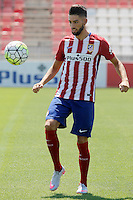 Atletico de Madrid's new player Yannick Carrasco.