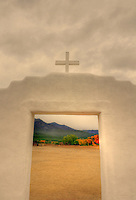 San Geronimo Church - Taos Pueblo, Taos, New Mexico.<br />