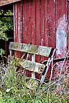 barn, fence broken down, rural, country