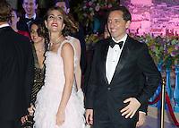 Charlotte Casiraghi & boyfriend Gad Elmaleh 1st official appearance together -  Monaco