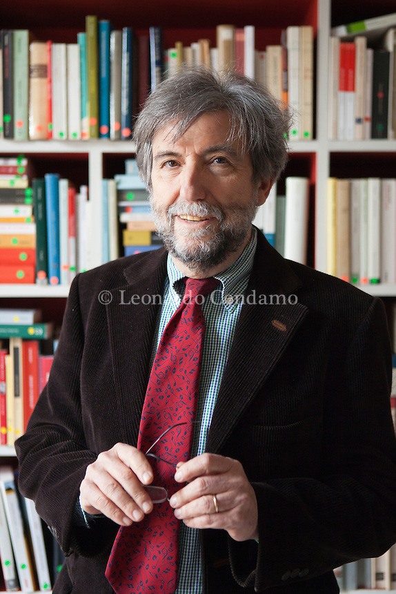 Ernesto Galli della Loggia (Roma, 18 luglio 1942) è uno storico e giornalista italiano, editorialista del Corriere della sera. Roma, 22 marzo 2016. © Leonardo Cendamo