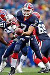 22 October 2006: Buffalo Bills quarterback J.P. Losman makes a hand-off against the New England Patriots at Ralph Wilson Stadium in Orchard Park, NY. The Patriots defeated the Bills 28-6. Mandatory Photo Credit: Ed Wolfstein Photo.<br />
