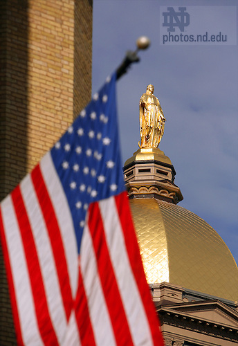 Dome and US Flag
