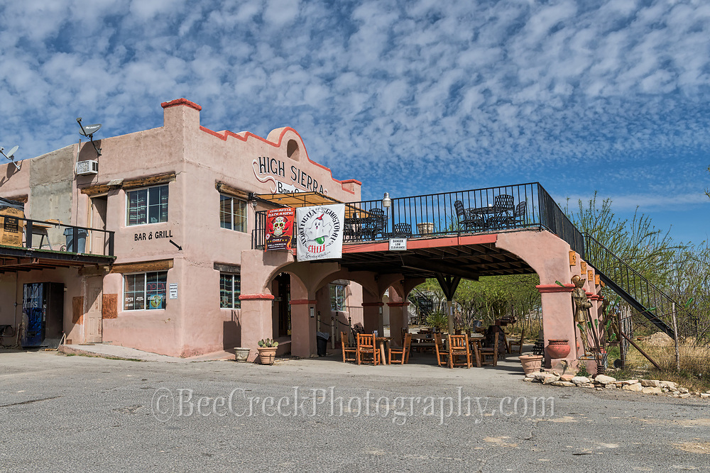 Another one of the hotels in Terlingua.  I think this was formally called the El Dorado.