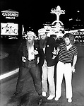 ZZ Top 1979 in Las Vegas.&copy; Chris Walter.