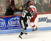 Paul de Jersey (PC - 13), Yasin Cissé (BU - 12) - The Boston University Terriers defeated the visiting Providence College Friars 4-2 (EN) on Saturday, December 13, 2012, at Agganis Arena in Boston, Massachusetts.