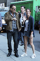 NEW YORK, NY- SEPTEMBER 22: Bruce Springsteen and daughter Jessica Springsteen at The Late Show With Stephen Colbert in New York City. September 22, 2016. Credit: RW/MediaPunch
