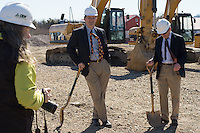 20150415 CALS Dept. of Animal and Veterinary Sciences Groundbreaking at Miller Farm
