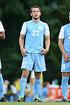 15 August 2014: North Carolina's Nick Williams. The University of North Carolina Tar Heels hosted the Gardner-Webb University Bulldogs at Fetzer Field in Chapel Hill, NC in a 2014 NCAA Division I Men's Soccer preseason match. North Carolina won the exhibition 7-0.