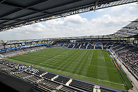 Sporting Park.Sporting Kansas City and Houston Dynamo played to a 1-1 tie at Sporting Park, Kansas City, Kansas.