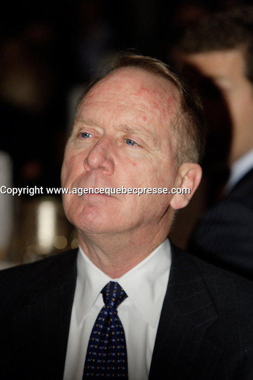 Montreal (Qc) CANADA - October 17 2011 - William Downe,<br /> President and Chief Executive Officer, BMO Financial Group