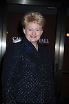 President Dalia Grybauskaite of Lithuania attending The Glamour Magazine 20th Annual Women of the Year on November 8, 2010 at Carnegie Hall in New York City.