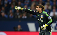 FUSSBALL   1. BUNDESLIGA   SAISON 2012/2013    31. SPIELTAG FC Schalke 04 - Hamburger SV          28.04.2013 Torwart Rene Adler (Hamburger SV)