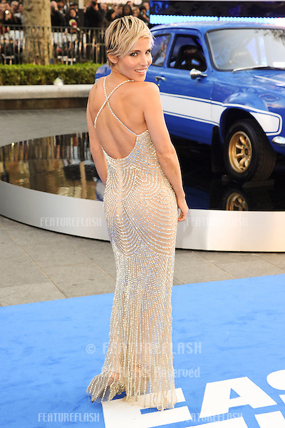 Elsa Pataky arriving for the 'Fast And Furious 6' Premiere, at Empire Leicester Square, London. 07/05/2013 Picture by: Steve Vas / Featureflash