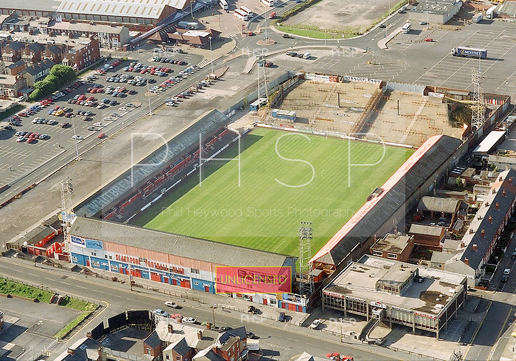 August 1995 Blackpool FC's Bloomfield Road Ground