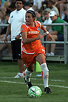22 July 2009: Meghan Schnur (12) of Sky Blue FC.  Saint Louis Athletica defeated the visiting Sky Blue FC 1-0 in a regular season Women's Professional Soccer game at Anheuser-Busch Soccer Park, in Fenton, MO.