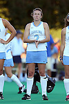 17 October 2014: North Carolina's Loren Shealy. The Duke University Blue Devils hosted the University of North Carolina Tar Heels at Jack Katz Stadium in Durham, North Carolina in a 2014 NCAA Division I Field Hockey match. UNC won the game 1-0.
