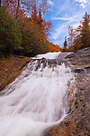 Autumn along Bubbling Springs Branch Cascades, Pisgah National Forest