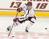 Pat Mullane (BC - 11) - The Boston College Eagles and University of New Hampshire Wildcats tied 4-4 on Sunday, February 17, 2013, at Kelley Rink in Conte Forum in Chestnut Hill, Massachusetts.