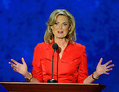 Ann Romney, wife of GOP nominee Mitt Romney, makes remarks at the 2012 Republican National Convention in Tampa Bay, Florida on Tuesday, August 28, 2012.  .Credit: Ron Sachs / CNP.(RESTRICTION: NO New York or New Jersey Newspapers or newspapers within a 75 mile radius of New York City)