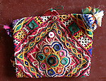 ATK-452 ANTIQUE TEXTILE EMBROIDERY PURSE