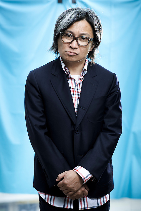 CANNES, FRANCE. MAY 14, 2011. Wu Xia's director Peter Ho Sun Chan at the Cannes Film Festival. (Photo: Antoine Doyen)