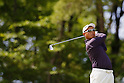 Toru Taniguchi, MAY 13, 2012 - Golf : Toru Taniguchi tees off on the 17th hole during the PGA Championship Nissin Cupnoodles Cup 2012 final round at Karasuyamajo Country Club, Tochigi, Japan. (Photo by Yusuke Nakanishi/AFLO SPORT) [1090]
