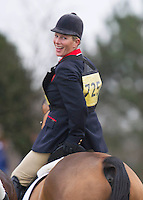 Zara Phillips competes at the Isleham Horse Trials - UK