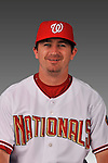 14 March 2008: ..Portrait of Trevor Lawhorn, Washington Nationals Minor League player at Spring Training Camp 2008..Mandatory Photo Credit: Ed Wolfstein Photo