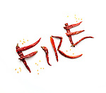 Fire with hot peppers.(Jodi Miller/Alive)