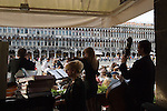 Venice Italy 2009. Cafe Florian St Marks Square /  Piazza San Marco.